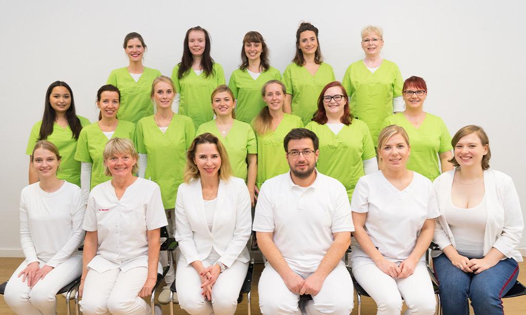Zahnarztpraxis Team